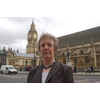 Christine Tinker Outside Parliament