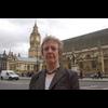 Christine Tinker Outside Parliament