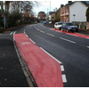 cycle lanes in Newcastle Road