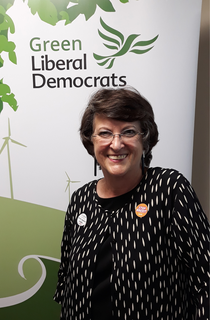 Catherine Bearder MEP - Climate Emergency Fringe Meeting (Kevin Daws)